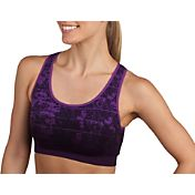 Jockey Women's Dip Dye Python Seam Free Sports Bra