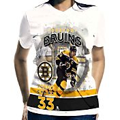 Levelwear Women's Boston Bruins Zdeno Chara #33 Center Ice White T-Shirt