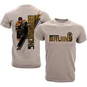 Levelwear Youth Boston Bruins Patrice Bergeron #37 Charcoal Spectrum T-Shirt