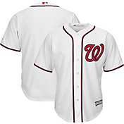 Majestic Boys' Replica Washington Nationals Cool Base Home White Jersey