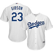 Majestic Men's Replica Los Angeles Dodgers Kirk Gibson #23 Cool Base Home White Jersey