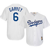 Majestic Men's Replica Los Angeles Dodgers Steve Garvey Cool Base White Cooperstown Jersey