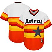Majestic Men's Replica Houston Astros Cool Base Rainbow Cooperstown Jersey