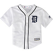 Majestic Toddler Replica Detroit Tigers Cool Base Home White Jersey