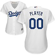 Majestic Women's Full Roster Cool Base Replica Los Angeles Dodgers Home White Jersey