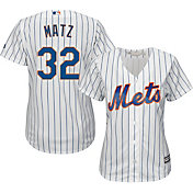 Majestic Women's Replica New York Mets Steven Matz #32 Cool Base Home White Jersey