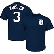 Majestic Youth Detroit Tigers Ian Kinsler #3 Navy T-Shirt
