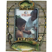 River's Edge Dad's Fish My Fish Picture Frame