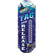 River's Edge Guy Harvey Marlin Tin Thermometer
