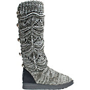 MUK LUKS Women's Jamie Scrunch Boot Slippers