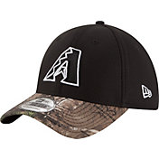 New Era Men's Arizona Diamondbacks 39Thirty Diamond Era Black/Camo Flex Hat