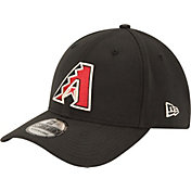 New Era Men's Arizona Diamondbacks 39Thirty Alternate Classic Black Flex Hat