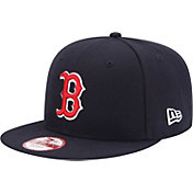 New Era Men's Boston Red Sox 9Fifty Navy Adjustable Hat