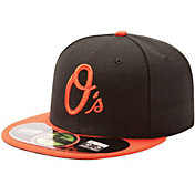 New Era Men's Baltimore Orioles 59Fifty Alternate Black Authentic Hat