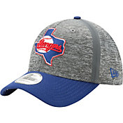 New Era Men's Texas Rangers 39Thirty Clubhouse Grey/Royal Flex Hat