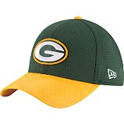 New Era Men's Green Bay Packers Sideline 2016 39Thirty On-Field Flex Hat