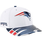 New Era Men's New England Patriots 2017 NFL Draft 59Fifty Fitted White Hat