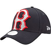 New Era Women's Boston Red Sox 9Forty Glitter Glam Adjustable Hat