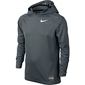 Nike Boys' Elite Shooter Hooded Basketball Shirt