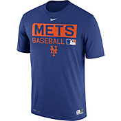 Nike Men's New York Mets Dri-FIT Authentic Collection Royal Legend T-Shirt