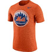 Nike Men's New York Mets Marled Orange T-Shirt