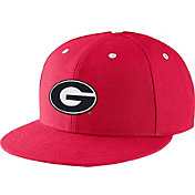 Nike Men's Georgia Bulldogs Red True Fitted On-Field Baseball Hat