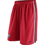 Nike Men's Georgia Bulldogs Red Epic Shorts