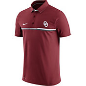 Nike Men's Oklahoma Sooners Crimson Elite Coaches Performance Polo