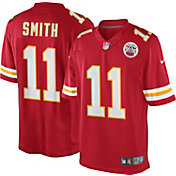 Nike Men's Home Limited Jersey Kansas City Chiefs Alex Smith #11