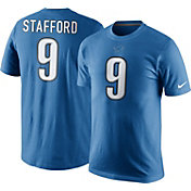 Nike Men's Detroit Lions Matthew Stafford #9 Pride Blue T-Shirt