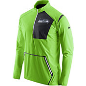 Nike Men's Seattle Seahawks Sideline 2016 Alpha Fly Rush Green Jacket