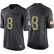 Nike Men's Home Limited Jersey Tennessee Titans Marcus Mariota #8 Salute to Service 2016