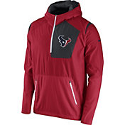 Nike Men's Houston Texans Sideline 2016 Vapor Speed Fly Rush Red Jacket