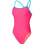 Nike Women's Core Solid Cross Back Swimsuit