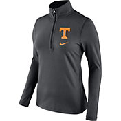 Nike Women's Tennessee Volunteers Anthracite Tailgate Dry Quarter-Zip Shirt