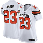 Nike Women's Away Game Jersey Cleveland Browns Joe Haden #23