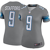 Nike Women's Color Rush 2017 Legend Jersey Detroit Lions Matthew Stafford #9