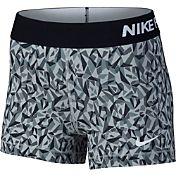 Nike Women's 3'' Pro Cool Facet Printed Shorts