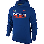Nike Youth Florida Gators Blue Therma-FIT Hoodie