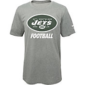 Nike Youth New York Jets Facility Grey T-Shirt