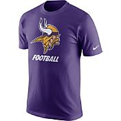 Nike Youth Minnesota Vikings Facility Purple T-Shirt