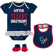 NFL Team Apparel Infant Houston Texans Bib & Booty Set