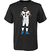 NFL Team Apparel Youth Carolina Panthers Cam Newton Touchdown Celebration T-Shirt