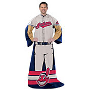 Northwest Cleveland Indians Uniform Full Body Comfy Throw