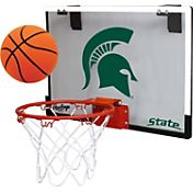 Rawlings Michigan State Spartans Game On Backboard Hoop Set