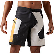 Reebok Men's CrossFit Super Nasty Core Star Graphic Board Shorts