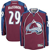 Reebok Men's Colorado Avalanche Nathan Mackinnon #29 Premier Replica Home Jersey