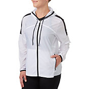 Reebok Women's Colorblock Hooded Jacket