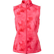 Slazenger Women's Tech Collection Tie-Dye Quilted Golf Vest