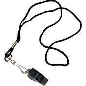 Tandem Pea-Less Whistle with Lanyard